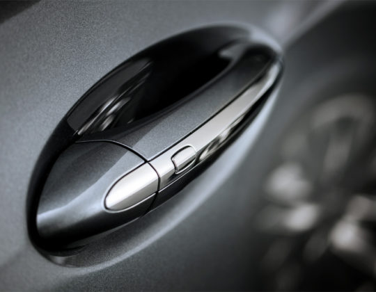 Model year 2018 Buick Enclave Exterior Door Handle